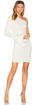 SOLACE London Danica Mini Dress in White. - size 0 (also in 2)