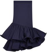 Safiyaa Nara Ruffled Knee Length Skirt