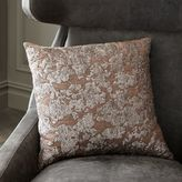 west elm Silhouette Leaves Pillow Cover