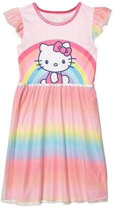 Komar Kids Hello Kitty Dressy Gown (Little Kids/Big Kids) (Pink) Girl's Pajama