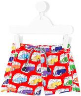 Mc2 Saint Barth Kids - van print swim shorts - kids - Polyamide/Polyester/Spandex/Elastane - 12 mth