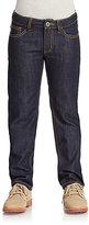 Armani Junior Boy's Stonewashed Jeans