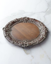 Horchow Baroque Wood Charger Plate