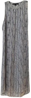 Theyskens' Theory Grey Silk Dress for Women