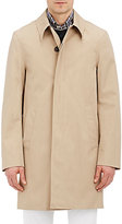 Aquascutum London Men's Slim Broadgate Raincoat-TAN
