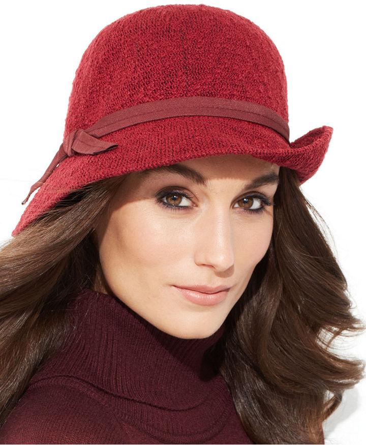 Collection XIIX Slub Knit Cloche Hat