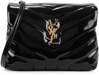 Saint Laurent Loulou Toy Black Patent Leather Cross-body Bag