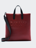 DKNY Neoprene Bonded Lamb Nappa Leather Tote