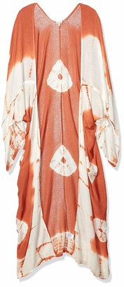 En Creme Women's Long Sleeve Kimono Sleepwear Robe