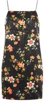 Topshop Floral print slip dress