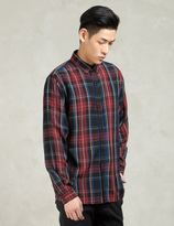 GRAND SCHEME Red Spencer Shirt