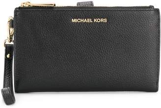 MICHAEL Michael Kors Jet Set pebbled-effect wallet