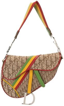 Christian Dior pre-owned Rasta Trotter Saddle shoulder bag