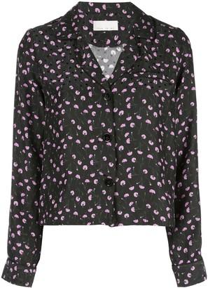 Fleur Du Mal Carnation Pyjama Top