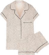Eberjey Sketchy Spots Printed Stretch-modal Jersey Pajama Set - Blush