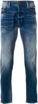 Diesel distressed slim-fit jeans