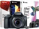 Canon PowerShot SX60 HS, 16GB MicroSD EVO Memory Card and Digital Creative Suite 2.0 - Black