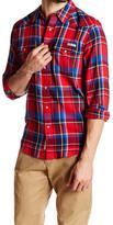 Lucky Brand Plaid Western Woven Shirt