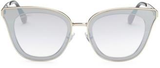 Jimmy Choo 49MM Lory Transparent Cat Eye Sunglasses
