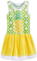 Bonnie Jean Little Girls' Pineapple Racerback Dress