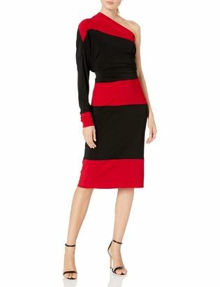 Norma Kamali Women's Spliced All in One Dress