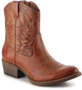 Women's Pistol Cowboy Boot -Cognac