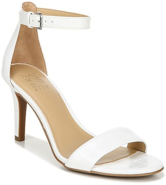 Naturalizer Leah Croc Embossed Ankle Strap Sandal - Wide Width Available