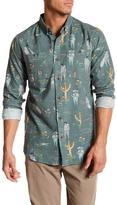VISSLA Viva Aloha Printed Long Sleeve Regular Fit Flannel