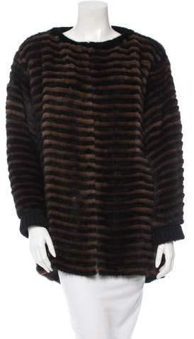Derek Lam Mink Fur Jacket