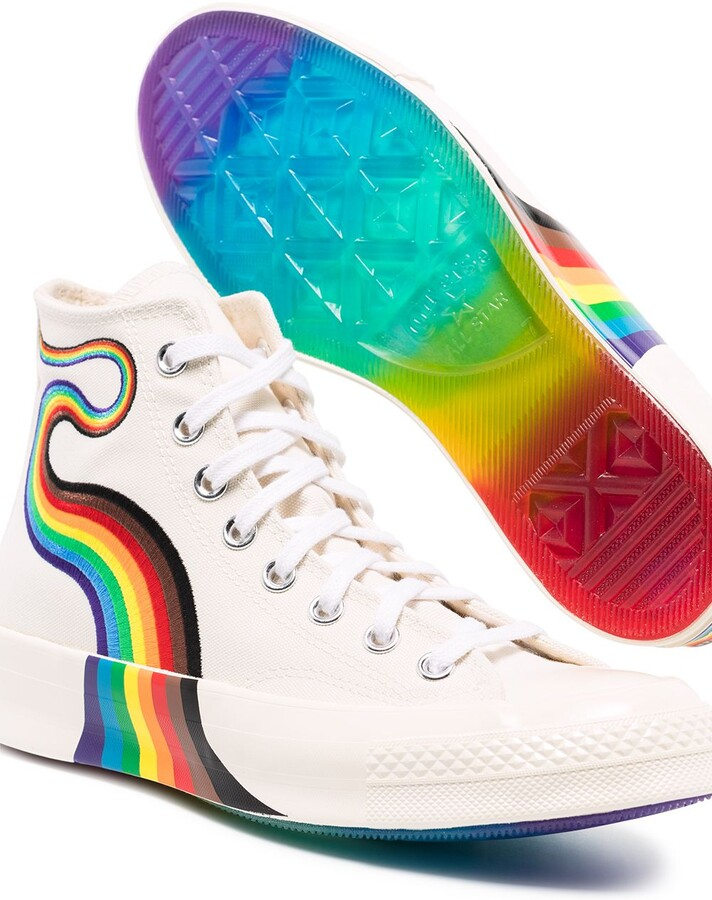 Thumbnail for your product : Converse x Pride Chuck 70s high-top sneakers
