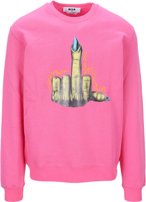 MSGM Graphic Print Sweatshirt