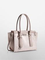 Calvin Klein Daron Logo City Center Zip Tote Bag