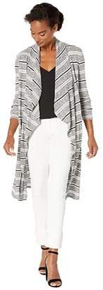 Tribal Long Sleeve Knit Cardigan