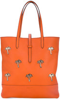 Tomas Maier Granada shopping tote bag - women - Cotton/Leather - One Size