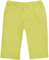 Bonpoint COTTON POPLIN PANTS-GREEN SIZE 6
