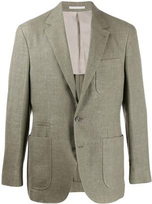 Brunello Cucinelli Single-Breasted Regular-Fit Blazer
