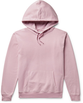Les Girls Les Boys Logo-Embroidered Loopback Cotton-Jersey Hoodie