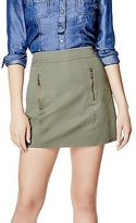 GUESS Women's Nylie Twill Miniskirt