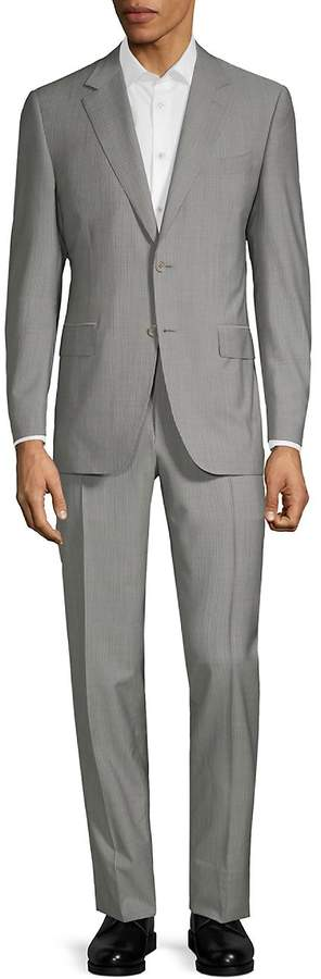 Canali Men's Classic Wool-Blend Suit