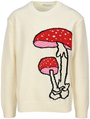 J.W.Anderson Mushroom Crew Neck Jumper