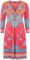 Hale Bob Embellished Jersey Mini Dress