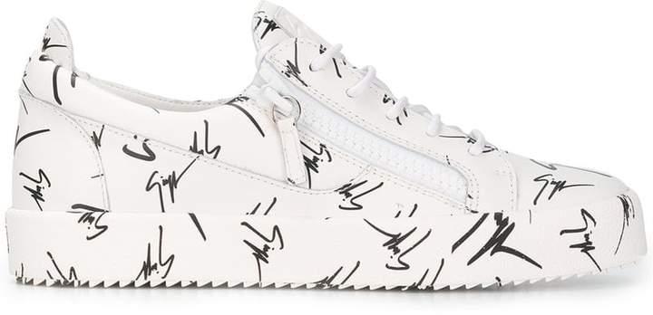 Giuseppe Zanotti Design The Signature low top sneakers