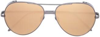 Linda Farrow Aviator Sunglasses