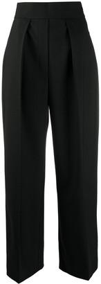 Neil Barrett Pleated High-Rise Trousers