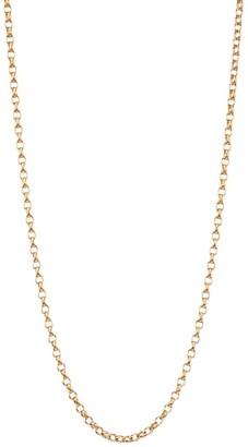 "Tamara Comolli 18K Rose Gold Belcher-Link Chain Necklace/16""-20"""