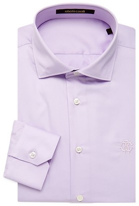 Roberto Cavalli Comfort-Fit Dress Shirt