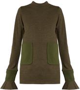 Toga Patch-pocket crew-neck sweater