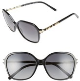 Burberry Women's 57Mm Sunglasses - Light Grey Gradient