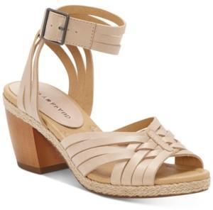 Lucky Brand Women's Noxa Ankle-Strap Dress Sandals Women's Shoes
