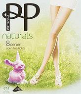 Pretty Polly Open Toe Naturals Pantyhose
